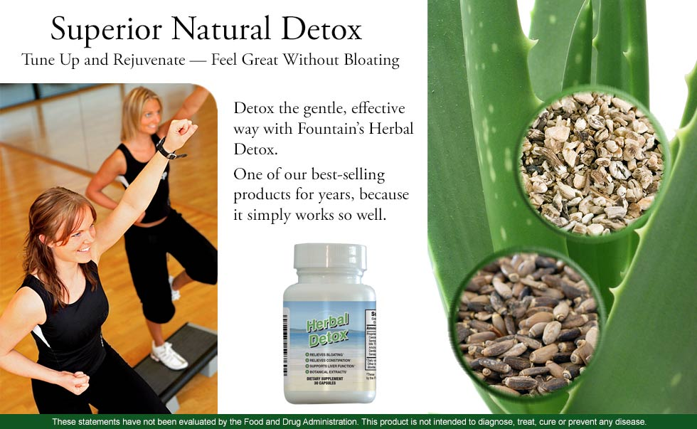 All-Natural Detox - Tune Up and Rejuvenate